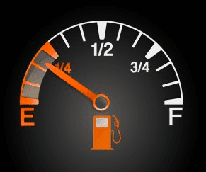 Quarter Tank of Fuel