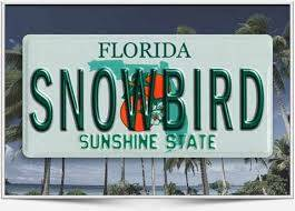 Snowbird Season in Florida