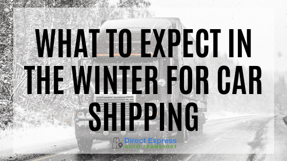 What To Expect In The Winter For Car Shipping