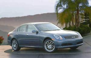 Car Transport Your Infiniti G35