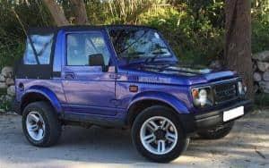Auto Transport Your Suzuki Samurai Jeep