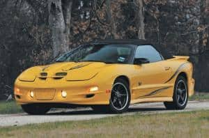 Car Shipping Your Pontiac Firebird