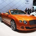 Exotic Car Bentley Continental GT Speed
