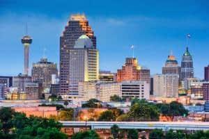 San Antonio, TX skyline