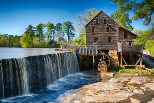 Raleigh North Carolina historic mill