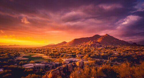 Scottsdale AZ desert landscape