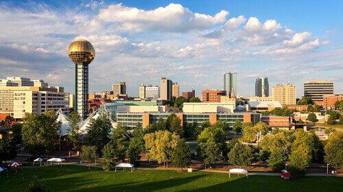 Knoxville, TN  city skyline